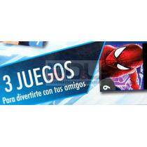 Avengers Spiderman 3en1 Dominó Tateti Ludo Original Licencia
