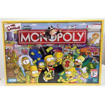 Monopoly Version Simpsons Juguetería El Pehuén