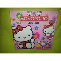 Juego Monopolio Juvenil Hello Kitty-