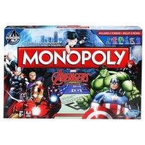 Juego Mesa Monopoly Avengers Marvel Original Hasbro