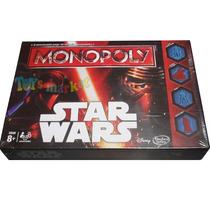Monopoly Star Wars Episodio 7 Juego Original De Hasbro