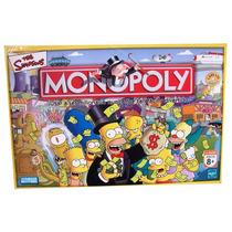 Monopoly The Simpsons El Juego Finanzas Original.