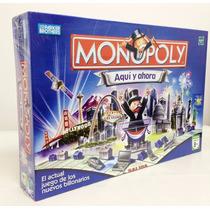 Monopoly Aquí Y Ahora Original Hasbro
