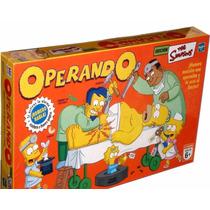 Operando Los Simpsons !!original Hasbro- No Pagues De Mas !!