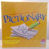 Pictionary 2 Niveles De Juego. Original De Mattel. Renovado!