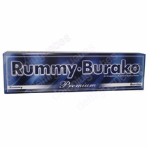 Rummy Burako Clásico Premium Fichas Pintadas Bajorrelieve