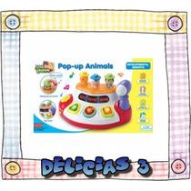 Juego Didactico Pop Up Animales Con Sonido Y Luz Delicias 3
