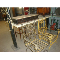 Muebles De Hierro, Sillones ,sillas ,dresoire,,aranas Etc