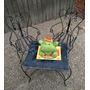 Mueble Jardín Antiguo De Niños - Estilo Campo No Juguete