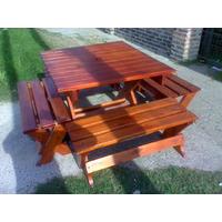 Mesa De Jardin-madera- Eucalipto!!!!