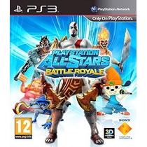 Playstation All Stars Battle Royale Ps3 Tarjeta Digital
