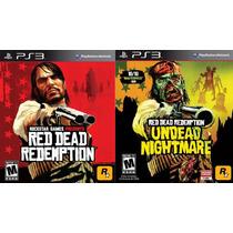 Red Dead Redemption + Undead Nightmare Ps3 Tarjeta Digital