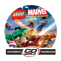 Lego Marvel Super Heroes Ps3 - Local En Moreno - Cd World