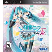 Hatsune Miku Project Diva F 2nd Nuevo Ps3 Dakmor Canje/venta