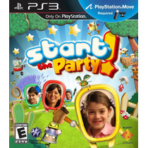 Start The Party Ps3 Para Jugar Con Move Nuevo Sellado