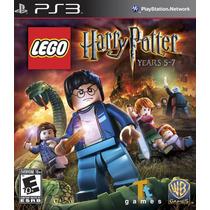 Lego Harry Potter - Years 5 - 7 - Juego Ps3 Box Original