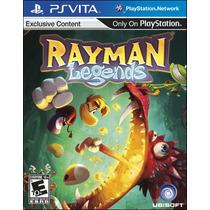 Rayman Legends Nuevo Ps Vita Dakmor Canje/venta