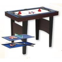 Mesa De Juegos 3 En 1- Pool, Tejo Y Ping Pong