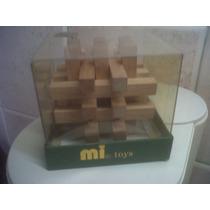Juego Maderitas En Caja Mi Toys Nuevo Sin Uso