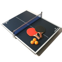 Mesa De Ping Pong Donnay Usa -mini Full+ Red Paletas Pelotas
