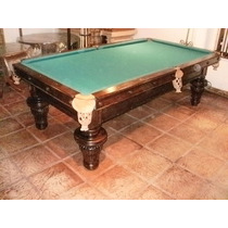 Mesa Antigua De Snooker Pool Billar