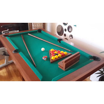 Mesas De Pool Mini 1,44x0,84mts De Fabrica