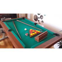 Mesas De Pool Mini 1,44x0,84mts De Fabrica