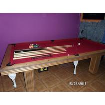 Pool Ping Pong Mesa Comedor 3 En Uno