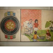 Retro Vintage - Juego De Ruleta - Muy Buen Estado!