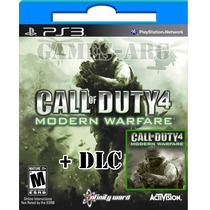 Call Of Duty 4 Modern Warfare Bundle Ps3 Playstation 3