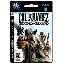 | Call Of Juarez Bound In Blood Ps3 Store Microcentro |