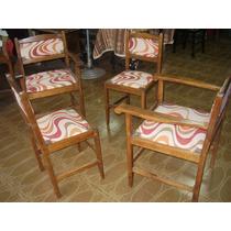 Juego de sillones de madera para galeria sillones en Juego sillones usados