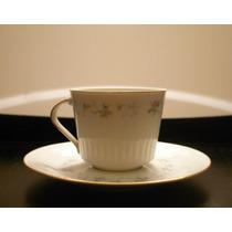 Tazas De Té, Porcelana Tsuji, Estilo Shabby Chic, Rosas