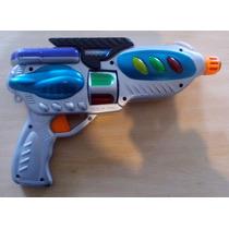 Pistola Juguete Con Luces Y Movimiento