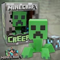 Minecraft Creeper Juguete Con Luz