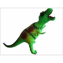 Dinosaurio Goma Tiranosaurio Rex T-rex Juguete Dia Del Niño