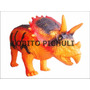 Dinosaurio Goma Triceratops Jurasic World Rex Once Mataderos