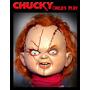 Chucky El Muñeco Maldito! 75cm! Pelo Y Ropa Real, Chuky, Fx