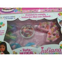 Oferta!!!torta Musical Juliana, Tamanio Grande, Completa!
