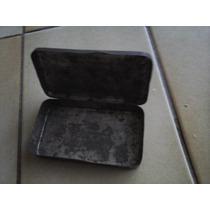 Lata De Metal Antigua Con Bisagra