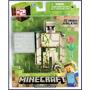 Minecraft Iron Golem Totalmente Articulado En Blister Sellad