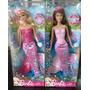Barbie Sirena 2 Modelos Original De Mattel