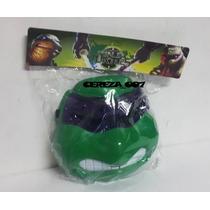 Mascara De Tortugas Ninja Con Luces Donatelo Violeta