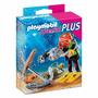 Playmobil Mini Buzo Con Tesoro Cod 4786