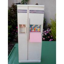 Heladera De Barbie Matell + Accesorios