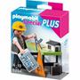 Playmobil Mini Arquitecto Con Mesa De Trabajo Cod 5294