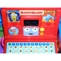 Many Manny Manos A La Obra Laptop Computadora Vtech Disney