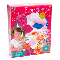 Juguete Set Para Armar Y Decorar Flores Para Niñas