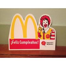 Publicidad Cumpleaños Mc.donalds