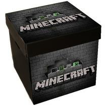 Cajas Para Juguetes Corrugado Plástico 33x33x34cm Minecraft